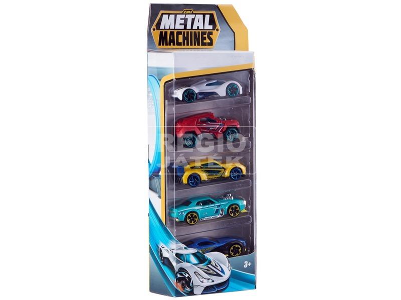 kép nagyítása Metal Machines kisautó 5 darabos készlet