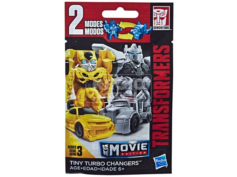 Transformers Tiny Turbo meglepetés figura