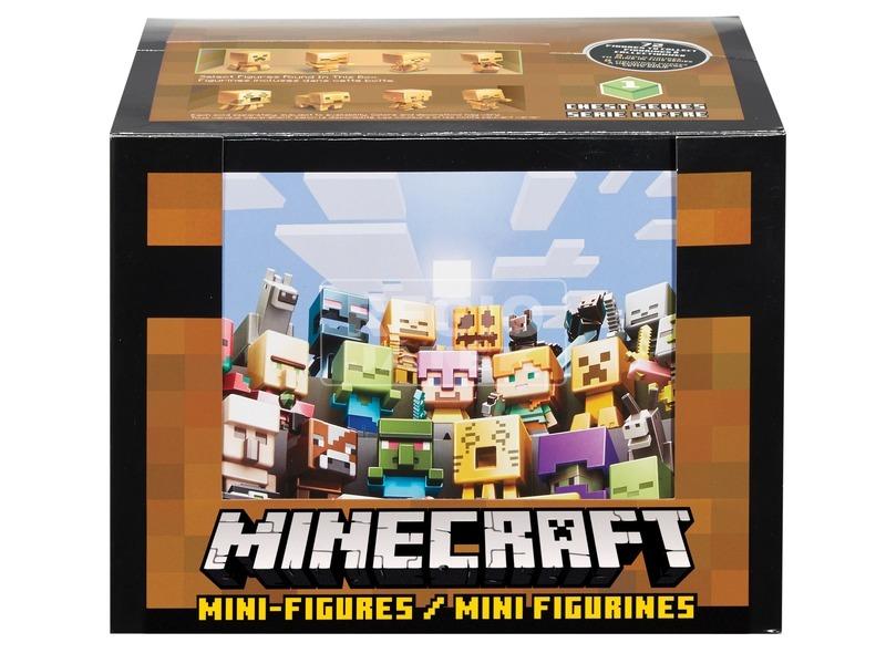 Minecraft figura meglepetés készlet