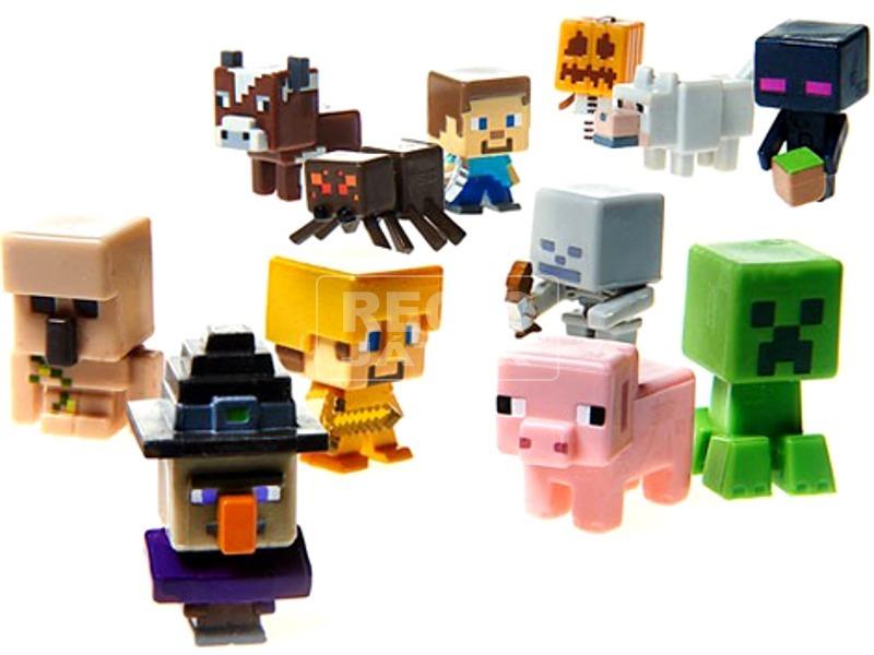 Minecraft 3 darabos figura készlet - többféle