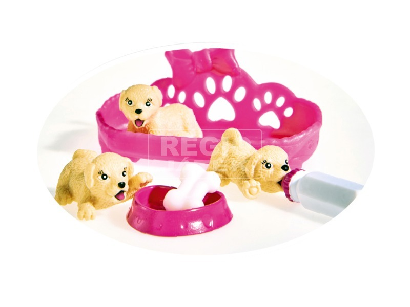 kép nagyítása Évi Love baba kutyacsalád készlet - 12 cm