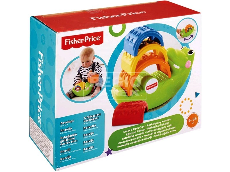 Fisher-Price színes kroki rakosgató