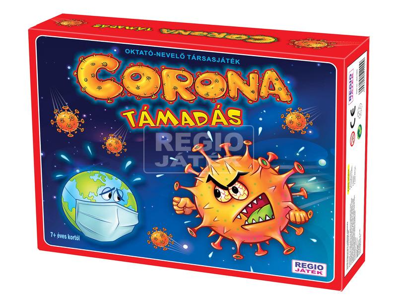Corona támadás társasjáték