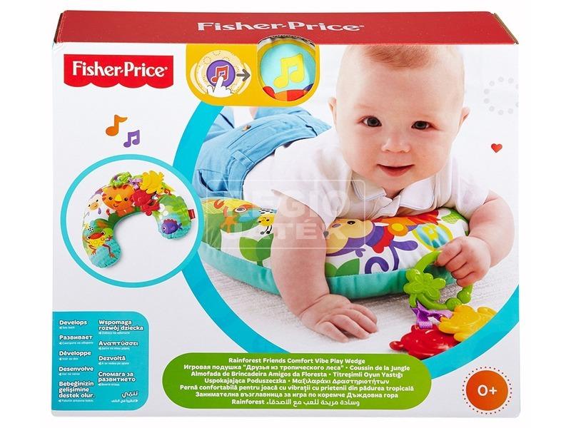 Fisher-Price esőerdős pocakpárna