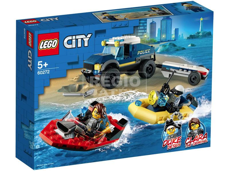 LEGO® City Elit Rendőrség Hajószállító 60272