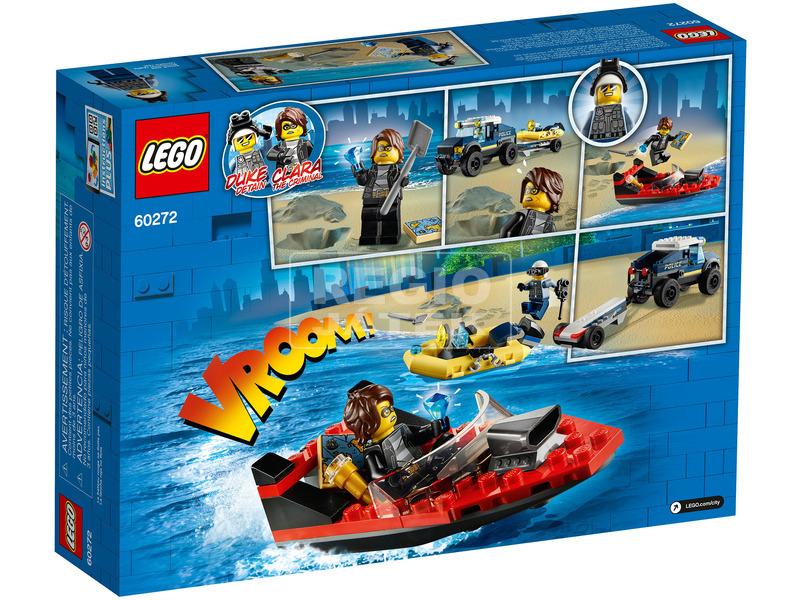 kép nagyítása LEGO® City Elit Rendőrség Hajószállító 60272