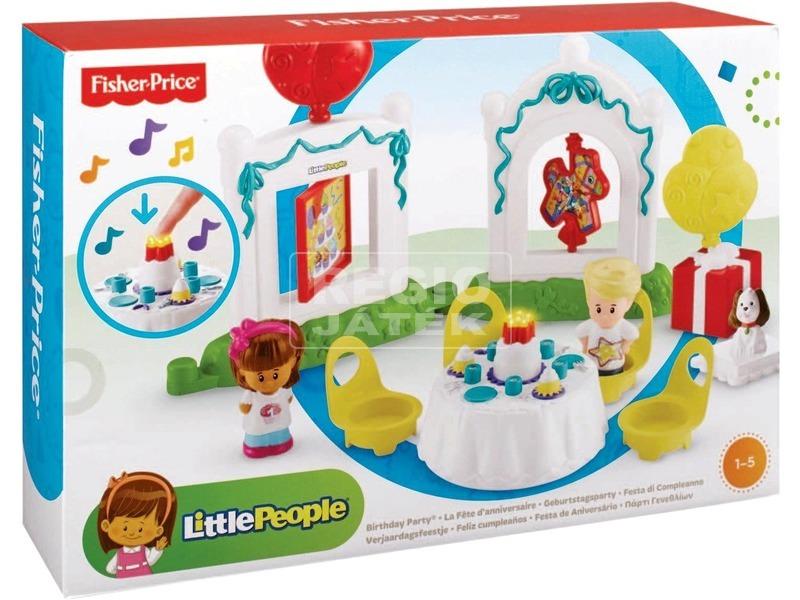 Little People szülinapi játékkészlet