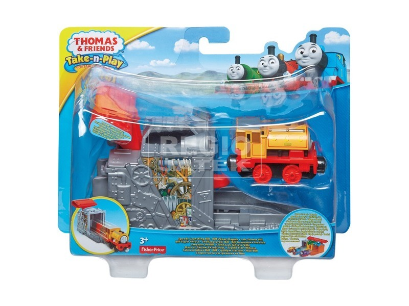 Thomas mozdony kilövővel - többféle