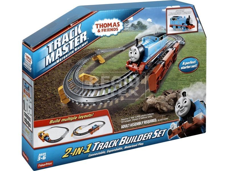 Thomas Trackmaster 2 az 1-ben sínépítő alapkészlet