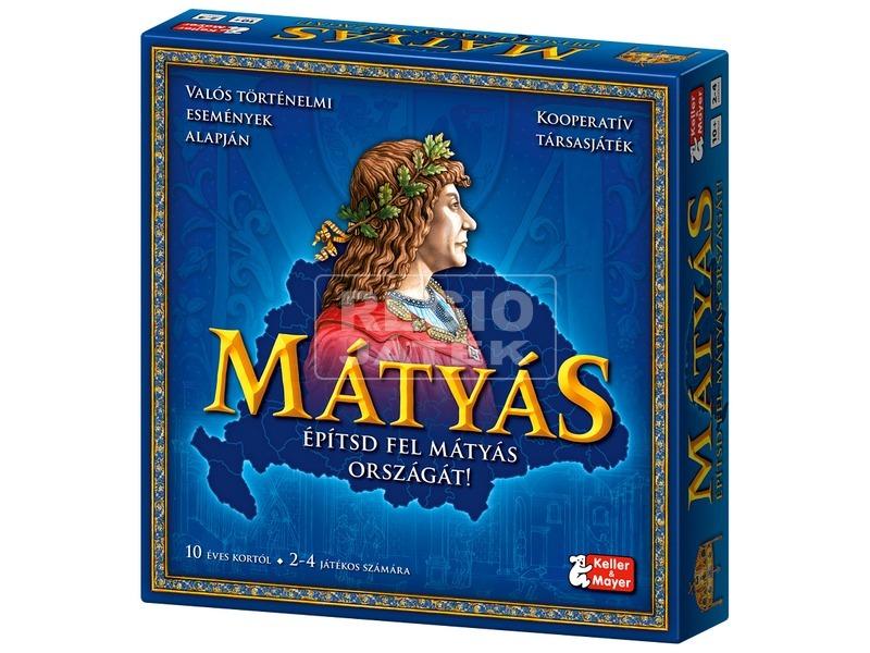 Mátyás király kooperációs társasjáték