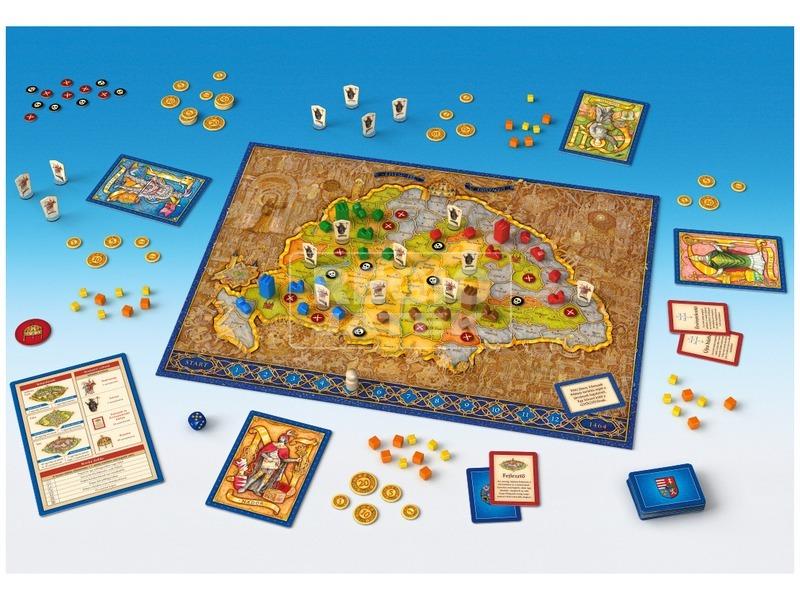kép nagyítása Mátyás király kooperációs társasjáték