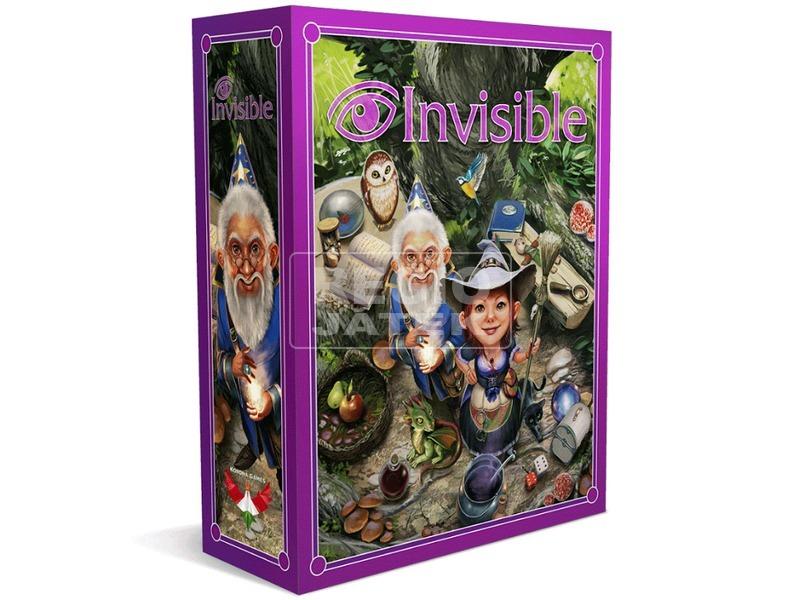 Invisible - Láthatatlan társasjáték