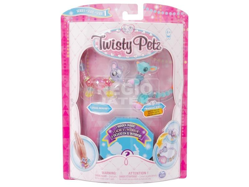 Twisty Petz kisállat karkötő 3 darabos - többféle