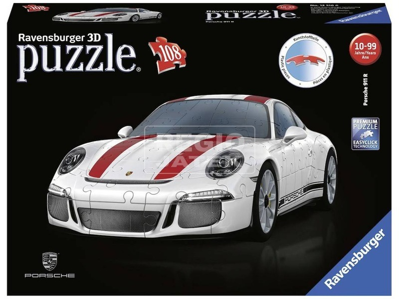Porsche 911 R 108 darabos 3D puzzle