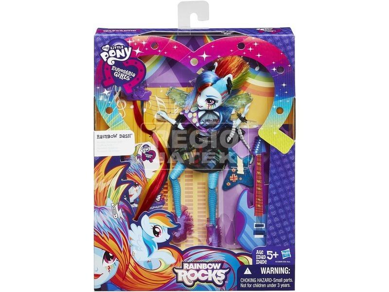 Én kicsi pónim: Equestria Girls Rainbow Rocks Hairstyling póni - többféle