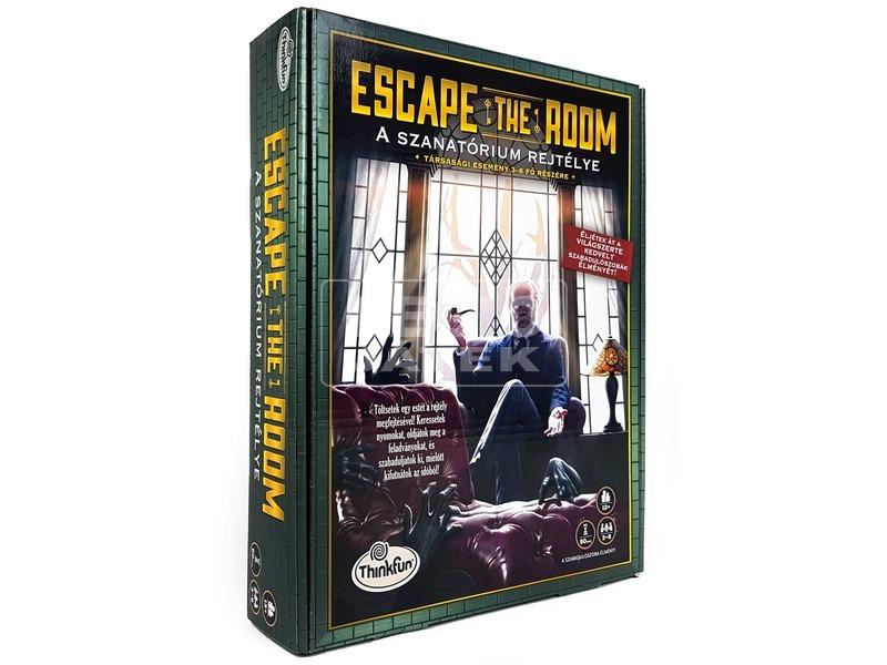 Escape Room A szanatórium rejtélye társasjáték