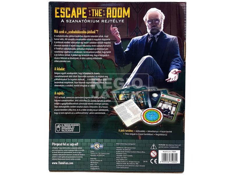 kép nagyítása Escape the Room: A szanatórium rejtélye THI