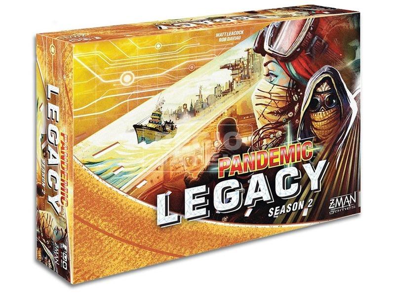 Pandemic Legacy társasjáték 2. évad