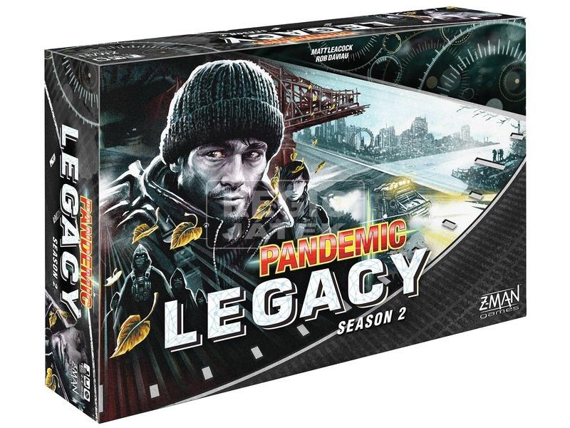 kép nagyítása Pandemic Legacy társasjáték 2. évad