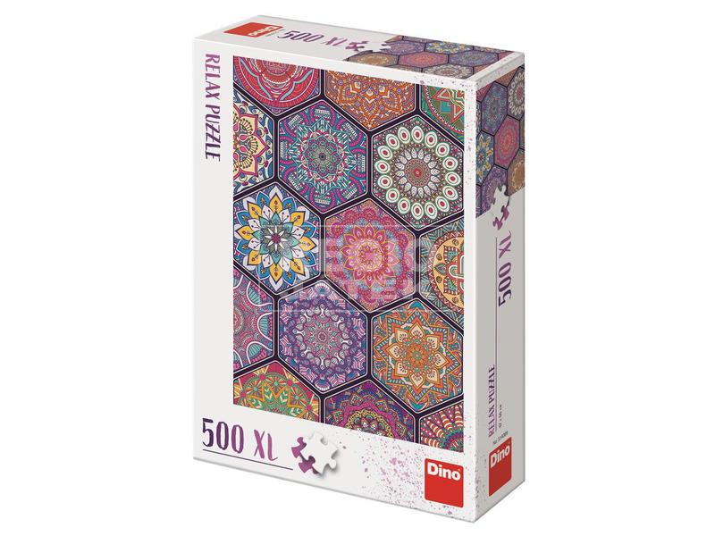Puzzle 500 XL -mandala