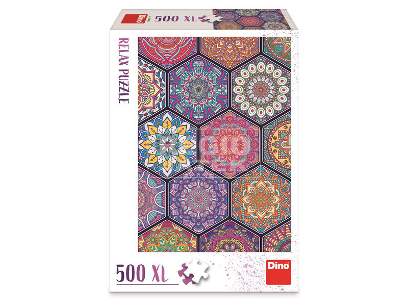 kép nagyítása Puzzle 500 XL -mandala