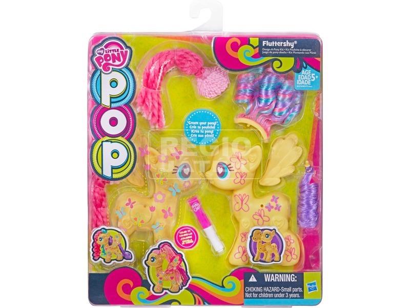 Én kicsi pónim: POP póni készlet - 13 cm, többféle