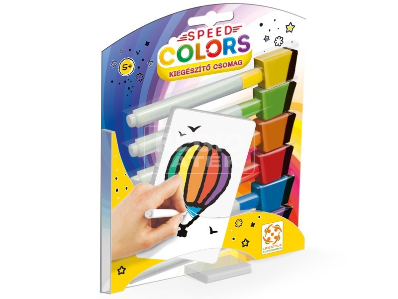 Speed Colors társasjáték kiegészítő