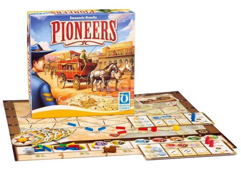 Pioneers - Pionírok társasjáték