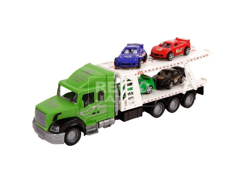 kép nagyítása Autószállító kamion - 36 cm, többféle
