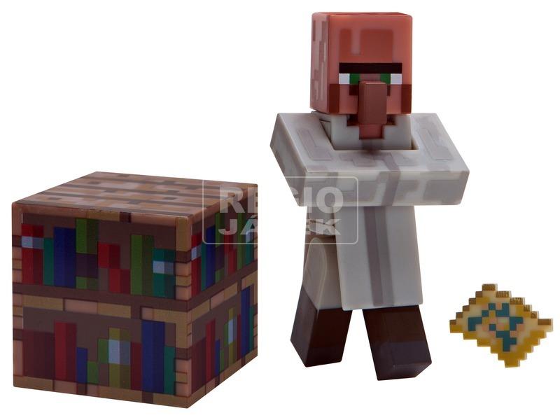 Minecraft falusi könyvtáros figura - 8 cm