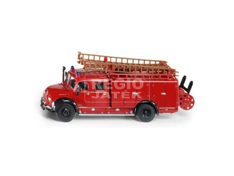 Siku: Magirus létrás tűzoltóautó 1:50