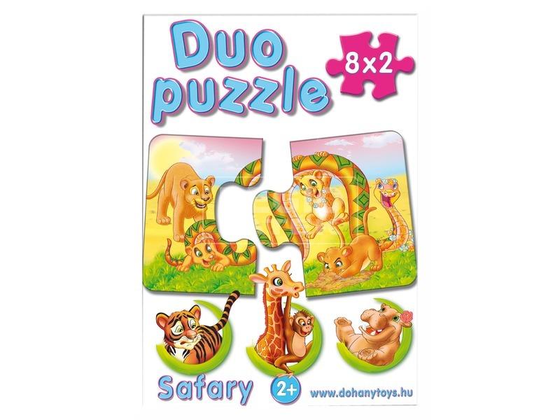 kép nagyítása Duo oktató puzzle - többféle