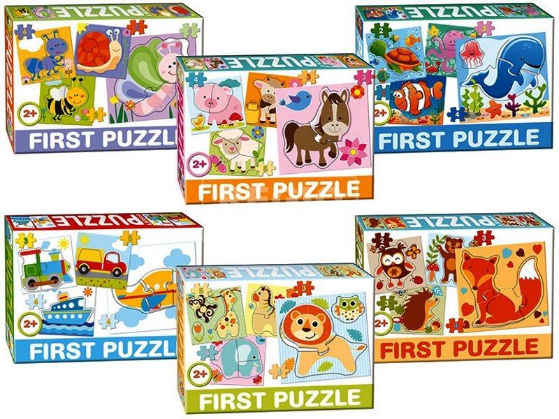 Első állatos puzzle - többféle