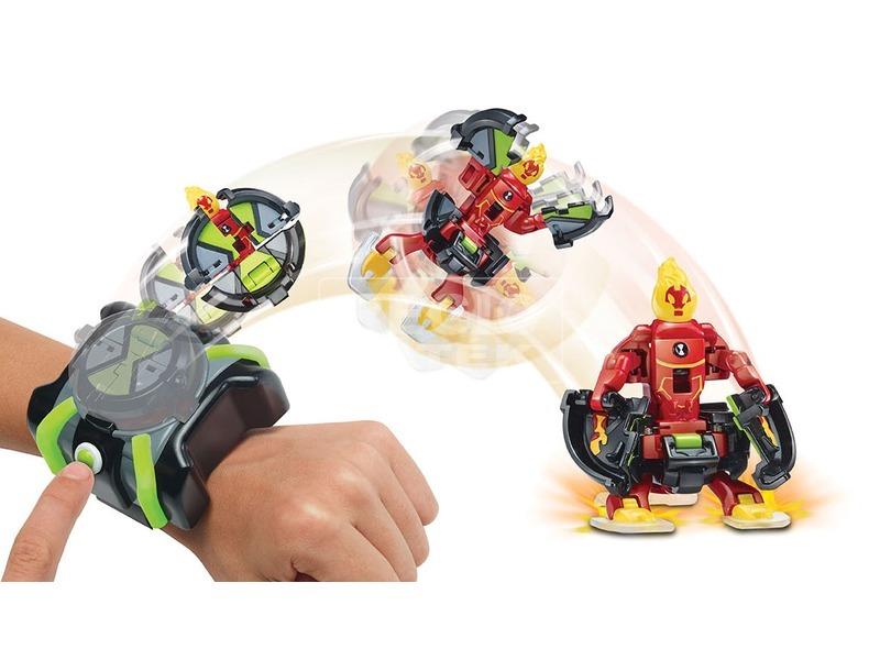 kép nagyítása Ben 10 Omni kilövő figurával 2 darabos készlet