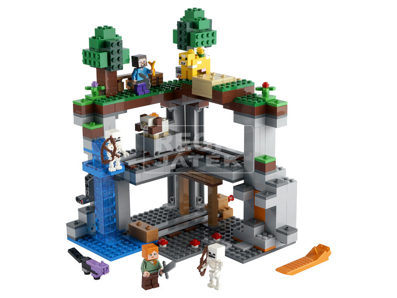 kép nagyítása LEGO Minecraft 21169 Az első kaland