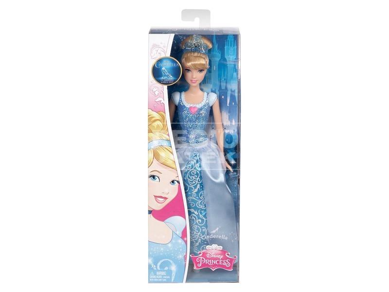 Disney hercegnők csillogó hercegnő baba - 30 cm, többféle