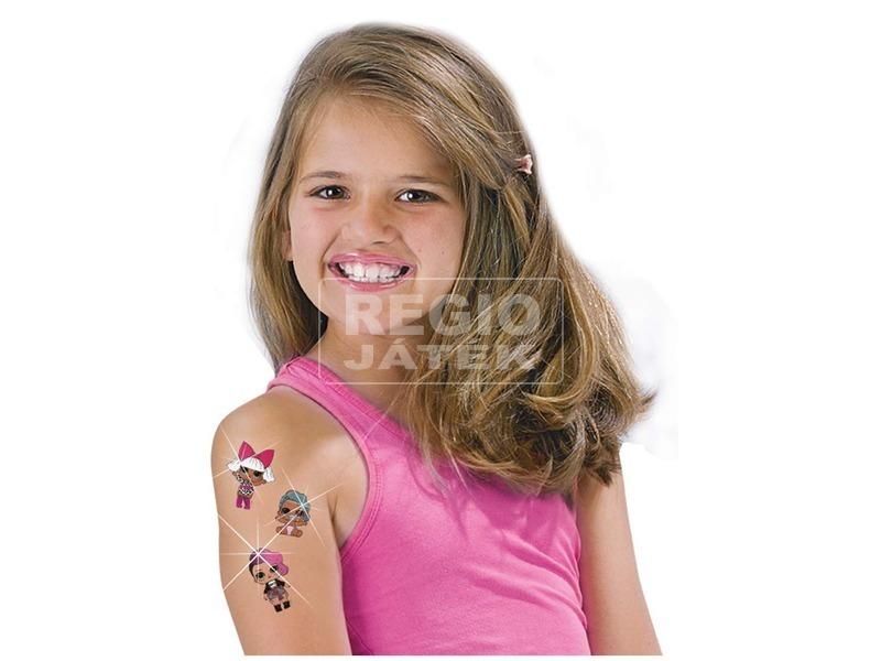 kép nagyítása L. O. L. csillogó tetoválás készlet