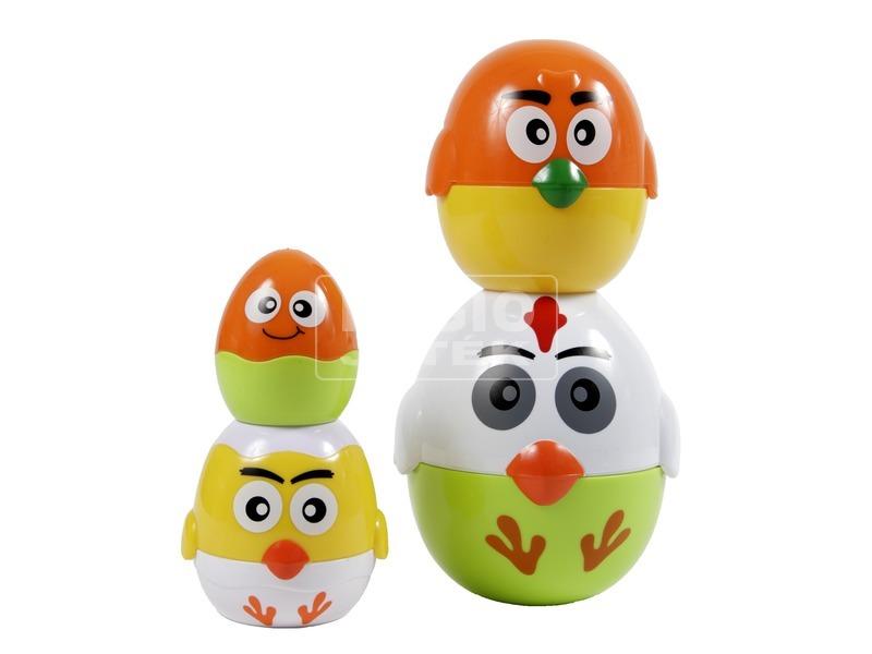 kép nagyítása Egymásba rakható tojások bébijáték