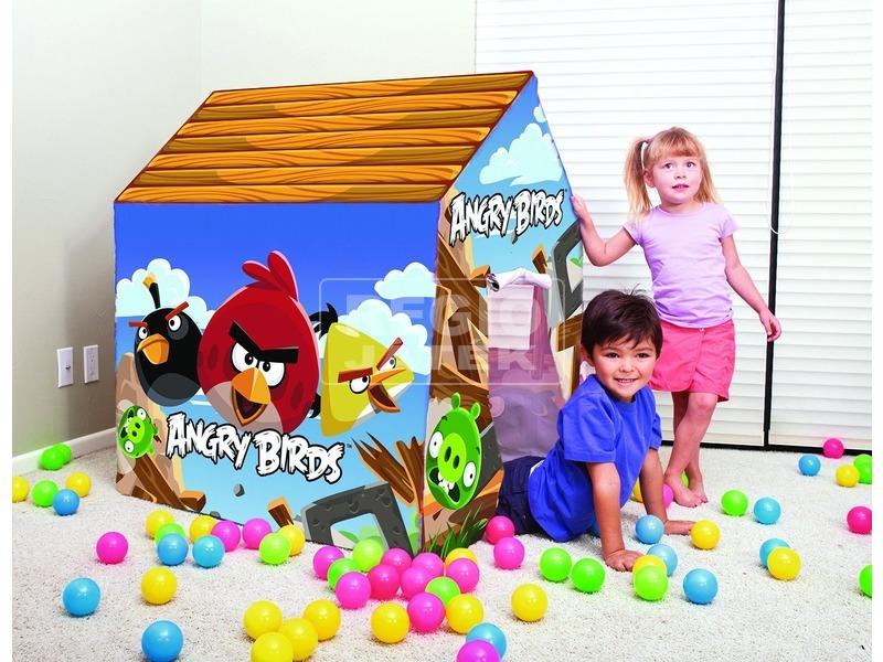 Angry Birds játszóház - 102 x 76 x 114 cm