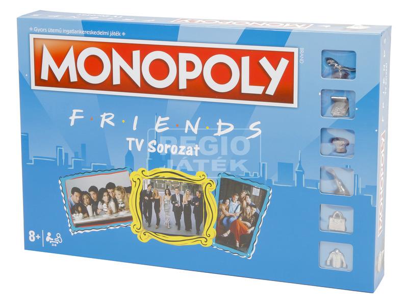 Monopoly társasjáték - Jóbarátok kiadás