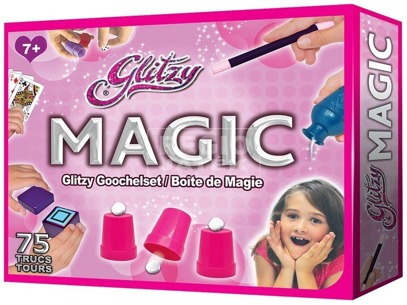 Glitzy Magic bűvészdoboz lányoknak - 75 trükkel