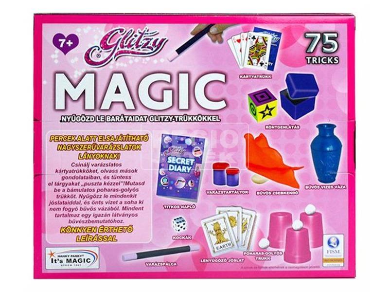 kép nagyítása Glitzy Magic bűvészdoboz lányoknak - 75 trükkel