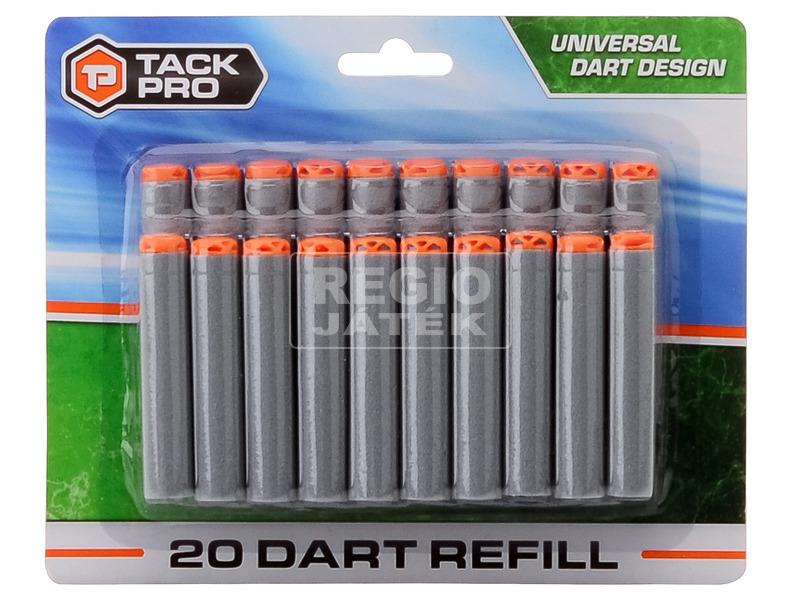 Serve and Protect szivacslőszer 30 darabos készlet