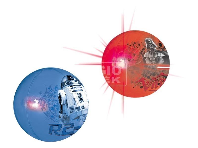 Star Wars: világító pattogó labda - 10 cm, többféle