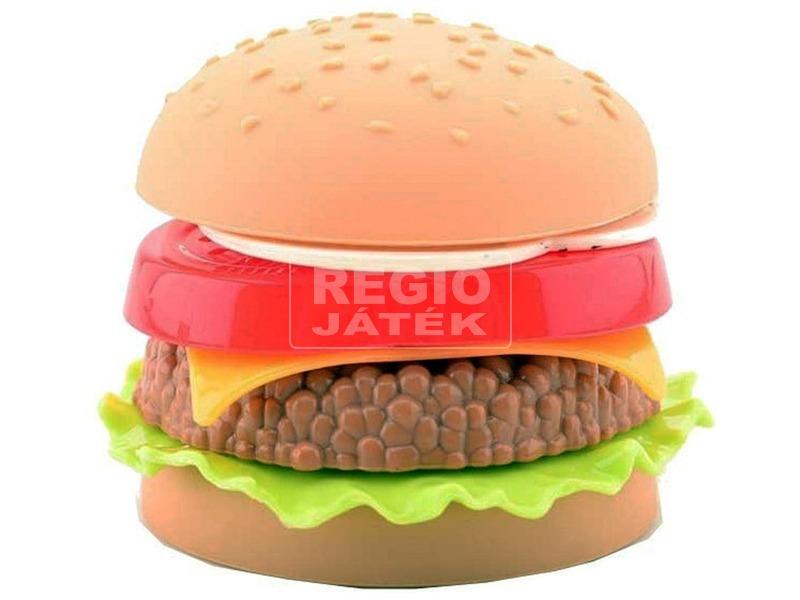 Játék hamburger szett