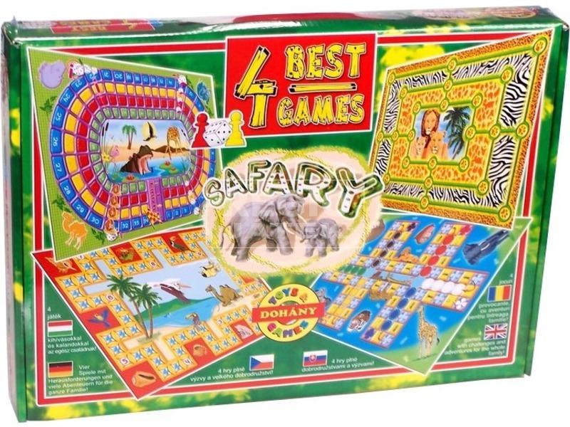 4 mese 4 játék társasjáték gyűjtemény
