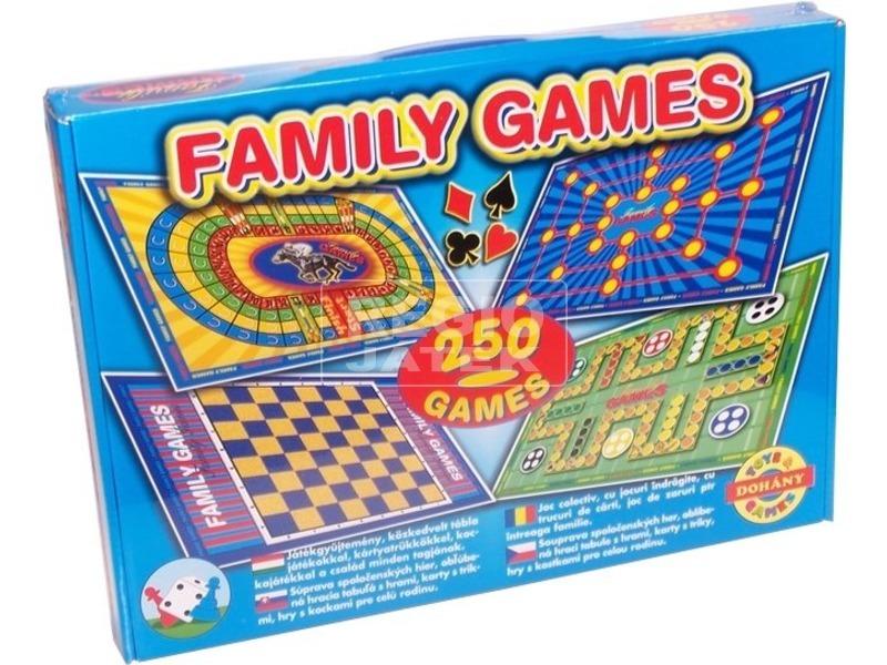 Family Games 250 társasjáték gyűjtemény