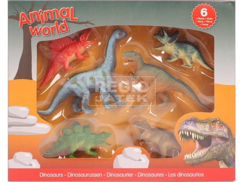 Dinoszaurusz figura 6 darabos készlet