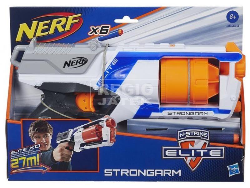 NERF N-Strike Elite Strongarm szivacslövő pisztoly