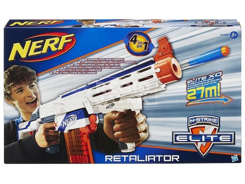 NERF N-Strike Elite Retaliator szivacslövő puska